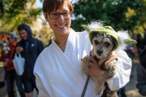 Tompkins Square Park Halloween Dog Parade 2013 Photograph: Taso Hountas