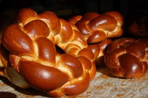 Challah bread. Photo by Flash90.