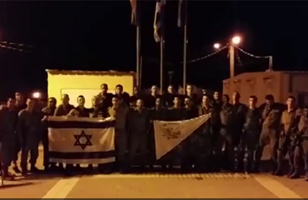 Happy Hanukkah from IDF Soldiers