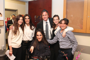 'The Suttons at the Jack Gindi Chesed Room Dedication