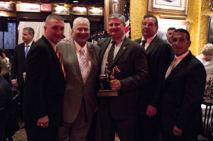 Mark Sisto, 1st VP, Judge Bruce M. Balter, Thomas Mungeer, President, Gordon Warnock, Director, Joseph A. D'Amico, Superintendent New York State Police